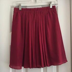 Loft Chiffon Skirt